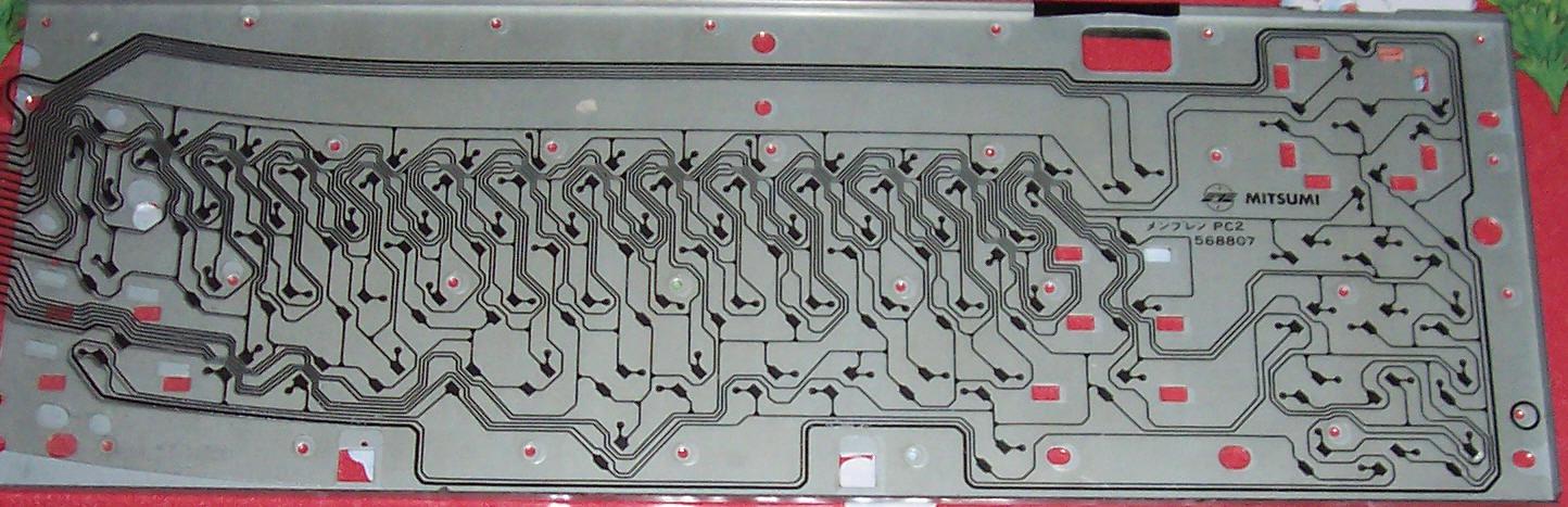Circuit imprimé après