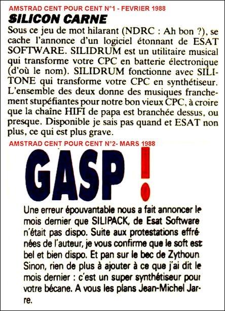 AMSTRAD CENT POUR CENT n°1 1988