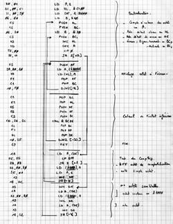 Routine assembleur - Décompression d'images