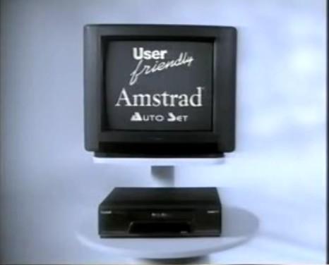 Amstrad UF40 VHS (1990) [Angleterre]
