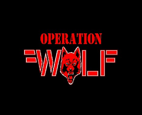 Operation Wolf : nouvelle intro de MUSICMAN3512