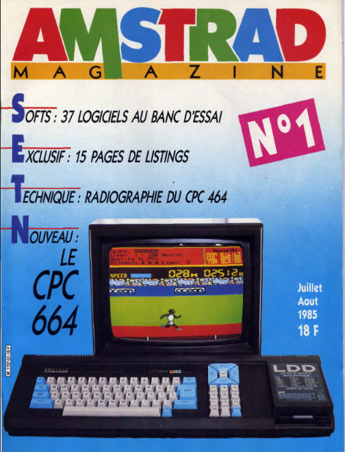 Amstrad Magazine n°01