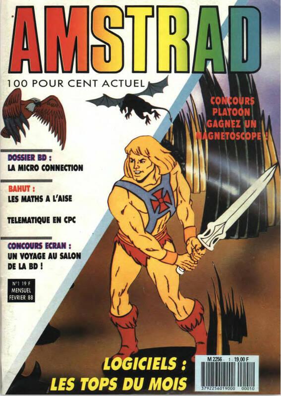 Amstrad Cent Pour Cent n°01