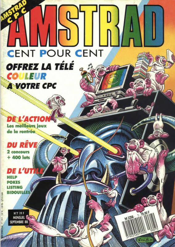 Amstrad Cent Pour Cent n°07