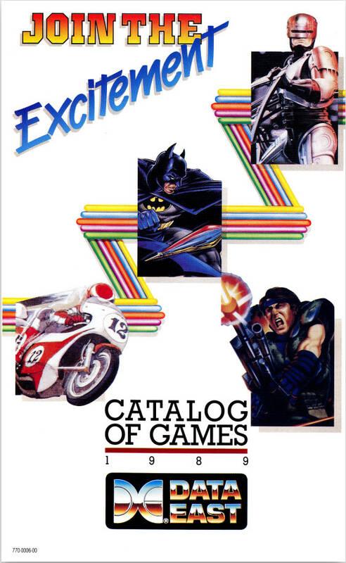 Catalogue DataEast 1989 (uk)