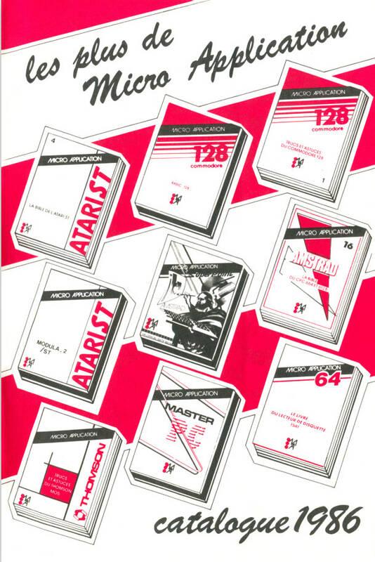 Catalogue Micro-Application 1986