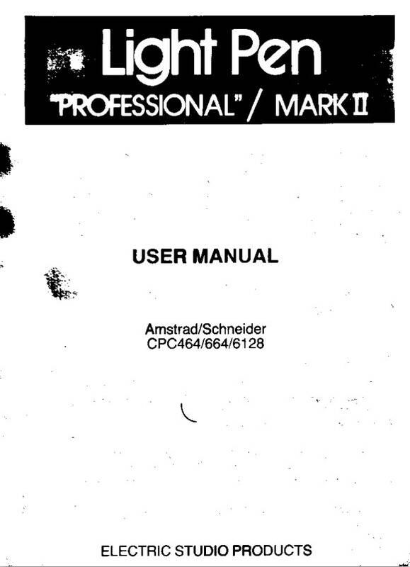 Light pen profesionnal mark II (uk)