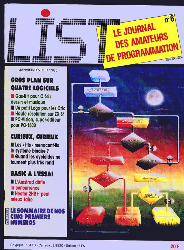 CPC 464 : LIST n°06