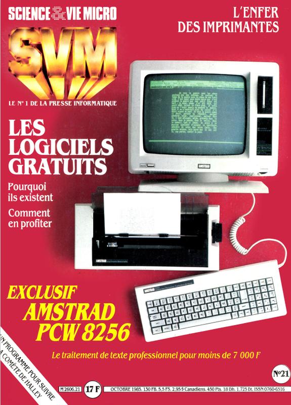 PCW 8256 : SVM n°021